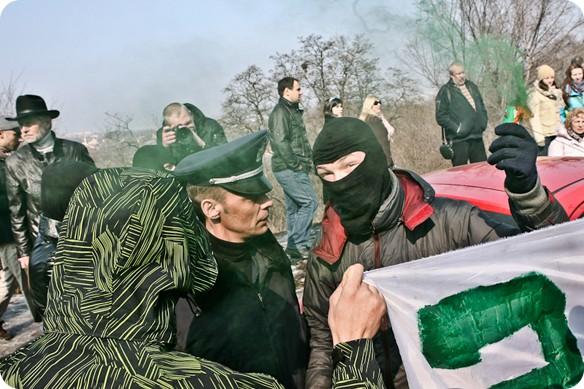 Как в субботу прошел митинг в защиту Пейзажной аллеи?