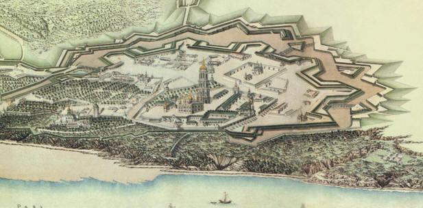 Старая Печерская крепость в