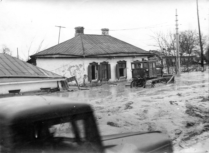 Затопленные дома на ул. Фрунзе