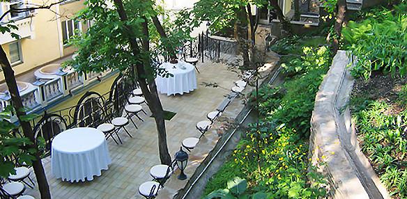 Рестораны на крыше в Киеве