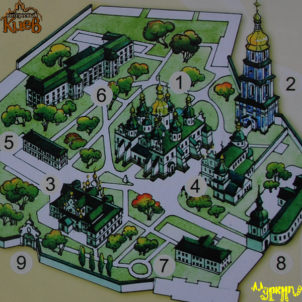 План-схема комплекса София