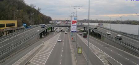 Эстакада на метро Днепр